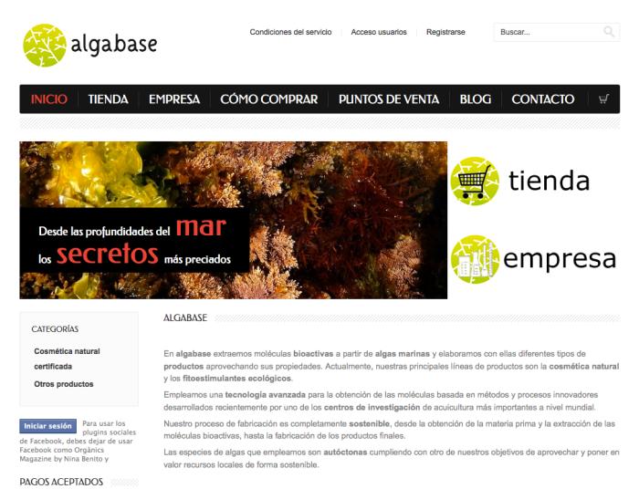 Algabase web